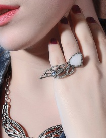 Fashion Silver Color Wing Shape Decorated Simple Ring Reviews