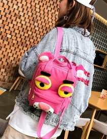 Fashion Pink Cartoon Shape Decorated Backpack(l)