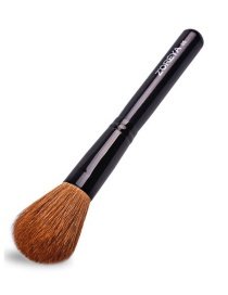 Fashion Black Color-matching Decorated Makeup Brush