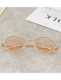 Fashion Champagne Round Shape Design Glasses