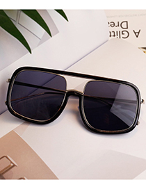Lovely Black Square Shape Design Child Anti-ultraviolet Glasses