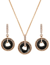 Fashion Gold Color Hollow Out Design Jewelry Sets