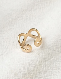 Fashion Gold Color Hollow Out Design Ring