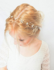 Fashion Gold Color Pure Color Decorated Hair Accessories