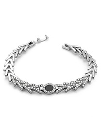 Fashion Silver Color Arrow Shape Decorated Bracelet