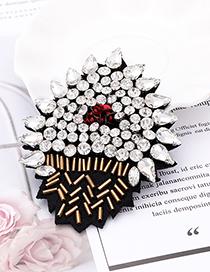 Fashion White Diamond Decorated Patch