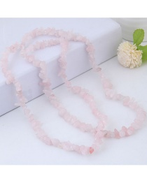 Fashion Pink Pure Color Decorated Accessories