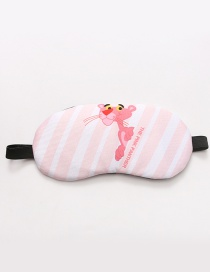 Fashion Pink Stripe&leopard Pattern Decorated Eyepatch