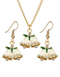 Fashion Gold Color Bell Shape Decorated Jewelry Set