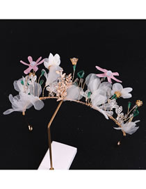 Fashion Multi-color Flowers Decorated Child Hair Accessories