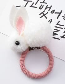 Fashion White Rabbit Shape Decorated Hairband