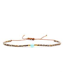 Fashion Multi-color Bead Decorated Bracelet