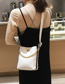 Fashion White Shoulder Bag
