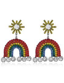 Fashion Color Rainbow Earrings