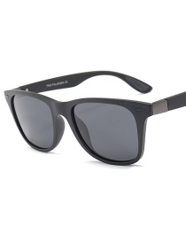 Fashion Black Polarized Sunglasses