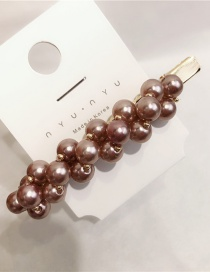 Fashion Bean Paste Pearl Hairpin