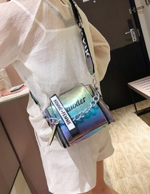 Fashion Color Broadband Shoulder Bag