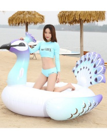 Fashion 150 Peacock Mount Inflatable Row Riding Ring