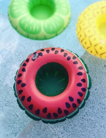 Fashion Watermelon Cup Holder Inflatable Water Coaster