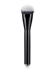 Fashion Black Single - Black Bright Handle - Foundation Brush