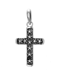 Fashion Silver 925 Silver Cross Pendant