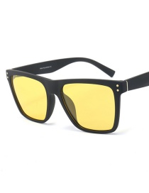 Fashion Yellow Film Night Vision Goggles C3 Day And Night Driving Glasses