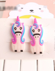 Fashion White Fruit And Vegetable Animal Hair Clip