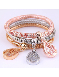 Fashion Color Auspicious Tree Corn Chain Multi-layer Bracelet