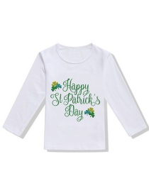 Fashion White Children's T-shirt