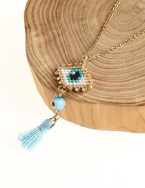 Fashion Gold Eye Necklace
