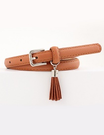 Fashion Camel Pin Buckle Belt