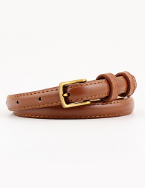 Fashion Camel Pin Buckle Fine Belt