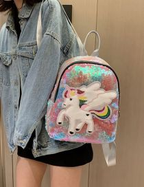 Fashion Pegasus 1 Sequined Unicorn Backpack