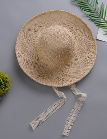 Fashion Beige Lace Hat And Straw Hat