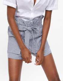 Fashion Stripe Striped Casual Shorts