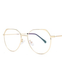 Fashion Gold Frame Large Frame Flat Mirror
