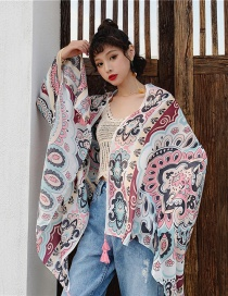 Fashion Totem Cashew Cotton And Linen Printed Scarves