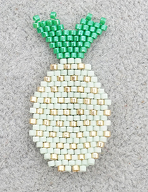 Fashion White Small Pineapple Beaded Accessories