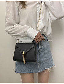 Black Tassel Chain Messenger Bag