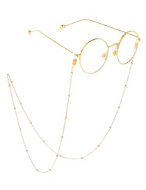 Kc金 Beaded Glasses Chain