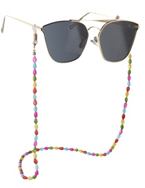 Fashion Color Natural Water Drop Shell Anti-skid Glasses Chain