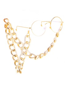 Fashion Gold Color-protected Thick Chain Metal Glasses Chain