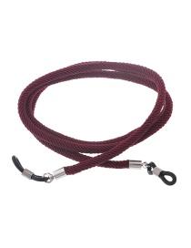 Fashion Wine Red Glasses Chain