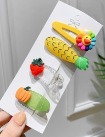 Fashion Fruit Set Children's Fruit Flow Sofa Clip Set