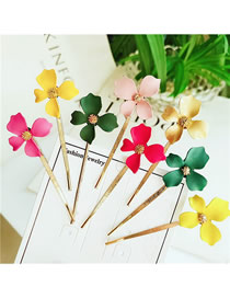 Fashion Combination Alloy Flower Hair Clip