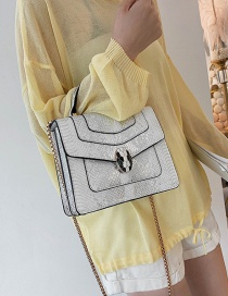 Fashion White Square Shape Bags