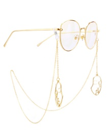 Fashion Gold Metal Mask Glasses Chain