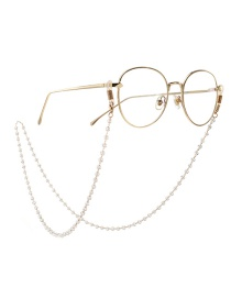 Fashion Gold Crystal Beaded Chain Non-slip Hanging Glasses Chain