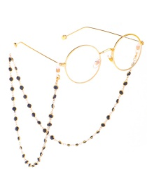 Fashion Gold Glass Bead Chain