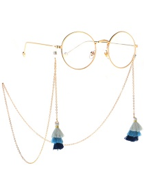 Fashion Gold Metal Fringed Tree Glasses Chain